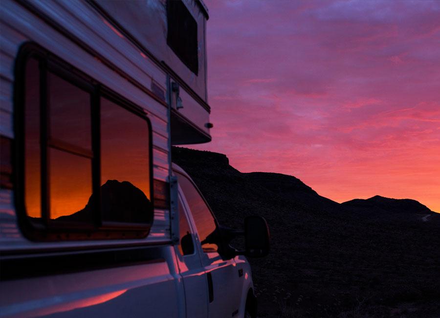 four-wheel-camper-popup-truck-camping-utah-colorado-mountains-off-road