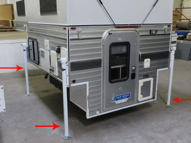 Mechanical Camper Jacks 4 Corner 69500