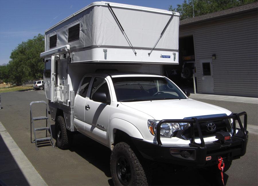 FLEET FLAT BED MODEL - Four Wheel Campers | Low Profile