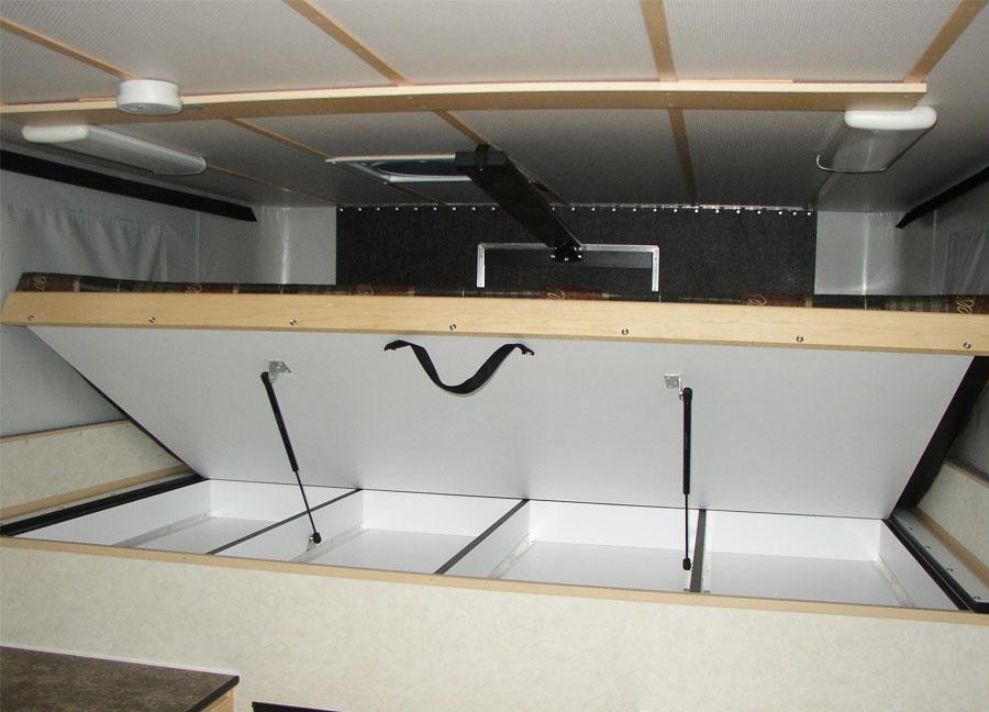 Hawk Flat Bed Model Four Wheel Campers Low Profile