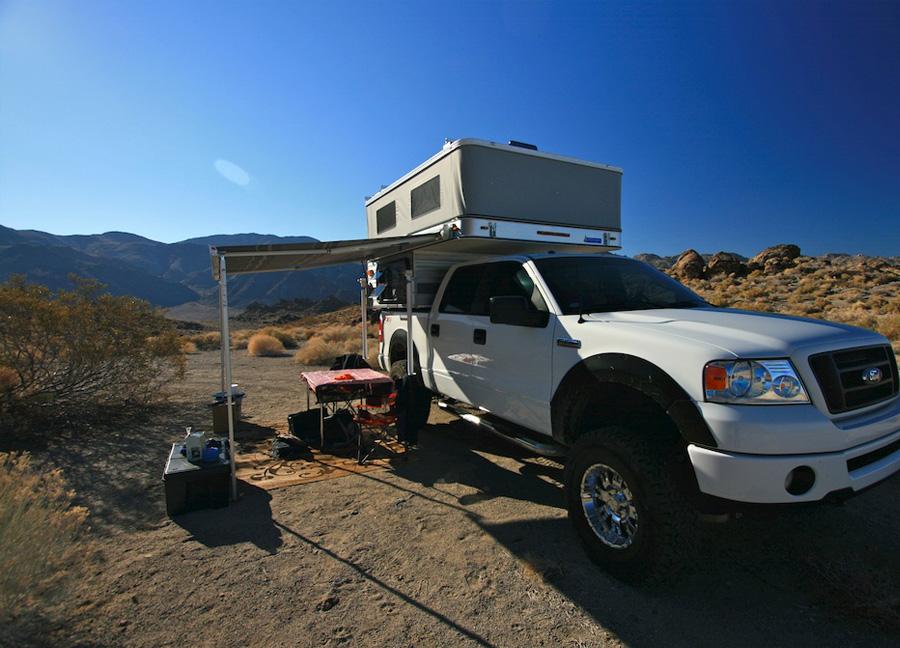Short Bed Truck Camper With Shower