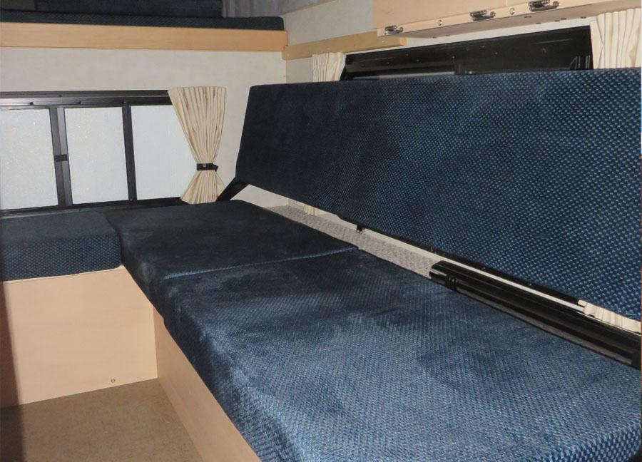 Fleet Pop Up Regular 60 Bed Four Wheel Campers Low Profile