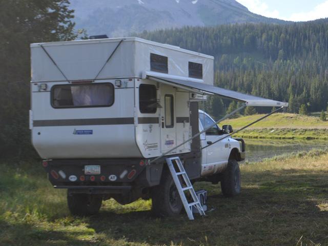 Fleet Flat Bed Model Four Wheel Campers Low Profile
