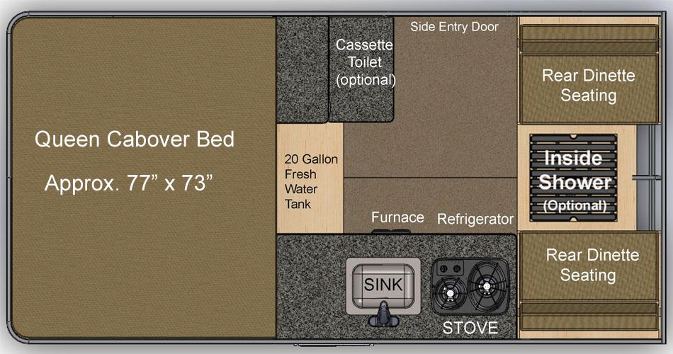 Fleet Flatbed Floor Plan